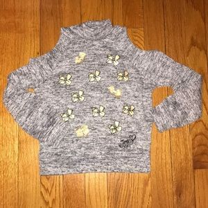 Other - Jojo siwa cold shoulder bow sweater